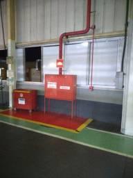 instalação e manutenção de sistema de combate incêndio e outros.