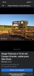 Título do anúncio: Alugo chácara saída para São Paulo