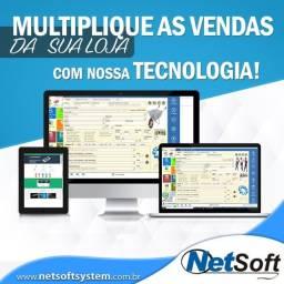 Título do anúncio: Sistema De Vendas, Controle De Estoque, PDV, Automação Comercial