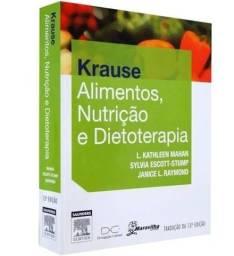 Título do anúncio: Livro Krause Alimentos, Nutrição e Dietoterapia