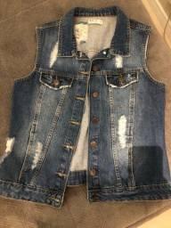 Título do anúncio: colete jeans!