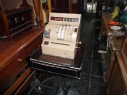 Antiga máquina registradora