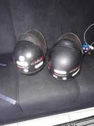 Troco 2 capacete por 1 .
