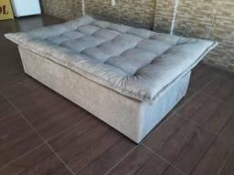 Sofá cama reclinável novo embalado brasília entorno
