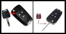 Chave Canivete Gm Cruze Para Astra Vectra Corsa Montana Agile Celta