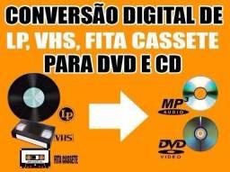 Conversão de fitas de vhs para dvd