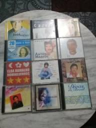 Cds consevados originais musicas boas ,mpb. romanticas ;