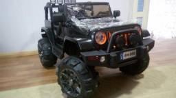 Carrinho elétrico Jeep wrangler 12v