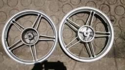 Rodas de liga perfeita para motos