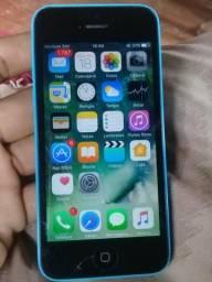 Vendo ou troco iPhone 5c 8g icloud livre LEIA O ANÚNCIO