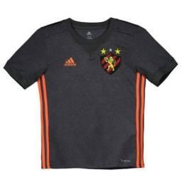 Camisa Sport Recife II 17/18 s/nº Torcedor Adidas - Grafite