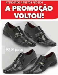 Kit 4 pares de sapatos( promoção por tempo limitado)