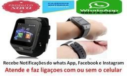 Relógio Celular Bluetooth Dz09 Camera Android Recarregavel zap 986745452