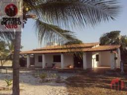 Sítio com 3 dormitórios para alugar, 2500 m² por R$ 1.500,00 - Lagoa do Banana - Caucaia/C