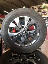 Jogo de rodas Honda CRV aro 17
