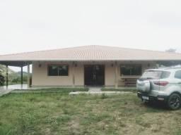 Belíssima fazenda com casa nova de 3/4, Varanda Gourmet e Curral