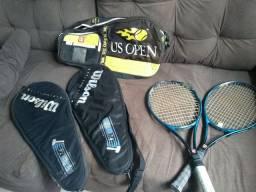 Raquete e tênis Wilson