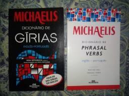 2 Dicionários Michaelis Inglês, Frete Grátis