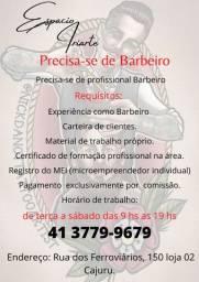 Contratação de Profissional barbeiro