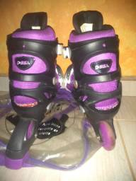 Patins Bel sports roxo