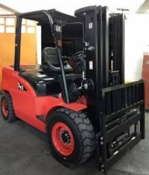Empilhadeira hongcha diesel 4.5 toneladas 2018