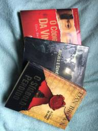 Livros trilogia Código da Vinci