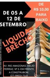 Liquida Brechó/Bazar de R$ 10,00 para baixo