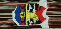 10$ roupa do toy story e Capitão América e um macacão