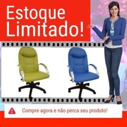 Cadeira Escritório Giratória Day Presidente CompreAlegre 100% Nacional