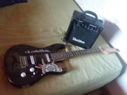 Vende se guitarra e caixa
