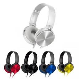Fone De Ouvido Headphone Com Fio P2 Xb45ap Extra Bass