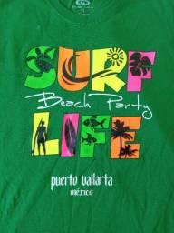 Camisa GG Mexicana do litoral de Puerto Vallarta