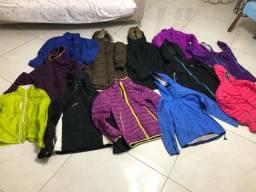 Blusas frio impermeáveis ou de pluma importadas Marcas conhecidas HH / Storm