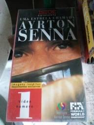 Título do anúncio: Fita cacete ayrton Senna