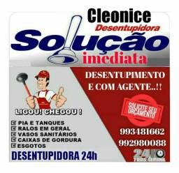 Título do anúncio: DESENTUPIDORA CLEONICE 24HRS