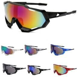 Título do anúncio: Óculos Ciclismo Feminino Masculino Bike Estilo Jawbreaker com Proteção UV400