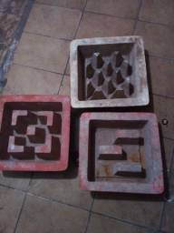 Título do anúncio: Formas para artefatos de concreto