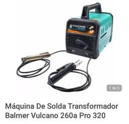 Máquina De Solda Transformador Balmer Vulcano 260a Pro 320