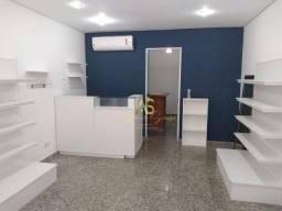 Título do anúncio: Sala para alugar, 48 m² por R$ 3.000,00/mês - Boqueirão - Praia Grande/SP