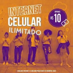 Título do anúncio: Internet celular