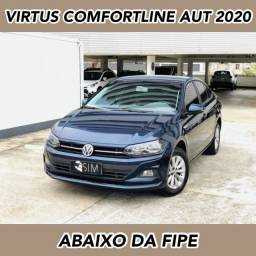 Título do anúncio: Vw Virtus Comfortline 200 Tsi Automático - 2020