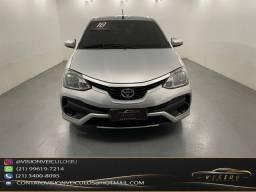 Título do anúncio: Etios 1.5 XS Mec 2018 (manual 100% ,carimbado na Toyota)
