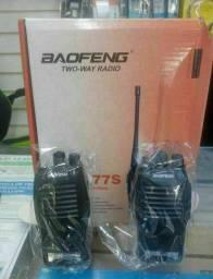 KIT RADIO TRANSMISSOR E COMUNICADOR BAOFENG BF-777S