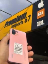 Título do anúncio: Celular Xiaomi Mi 11 Lite (Rose) 128GB R$ 1.979,00