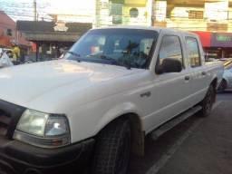 Título do anúncio: Vendo ou troco Ranger 2003 CD branca 4x4 motor 2.8 diesel