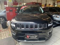 Título do anúncio: Jeep Compass Limited 2.0 (Automática)(Flex) 2019 KM.17.000 Apenas com Garantia de fabrica