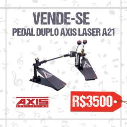 Pedal Duplo Axis A21 Laser