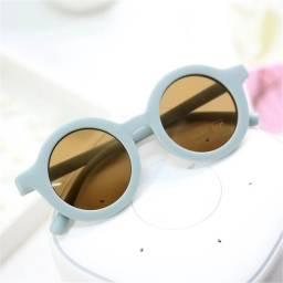 Título do anúncio: Óculos infantil sol retrô unissex azul