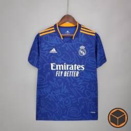 Título do anúncio: Camisa Real Madrid Away 21-22