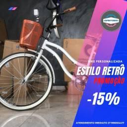 Título do anúncio: ES Bike - Bicicleta Samy Feminina Retro 0Km Nota Fiscal